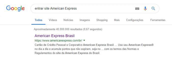 American Express Fatura