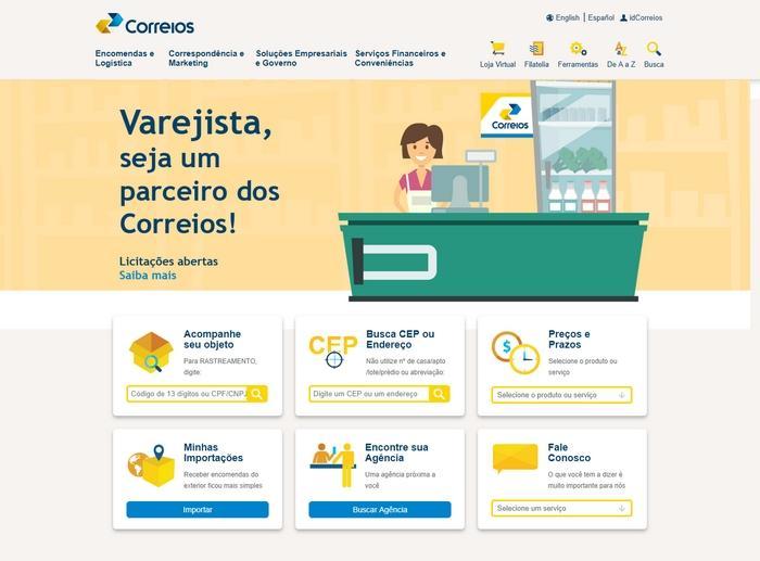 Site Correios